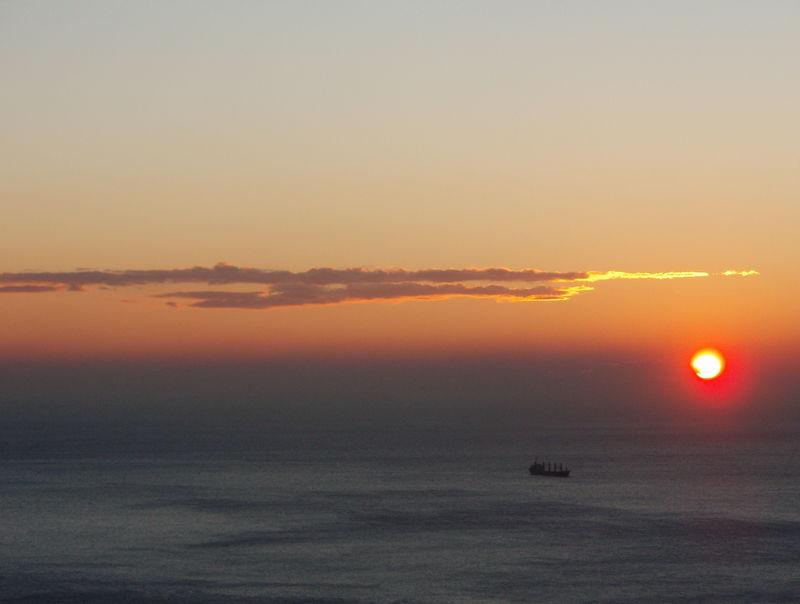 Sunset:boat
