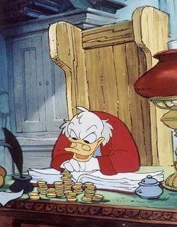 Scrooge McDuck - Christmas Carol