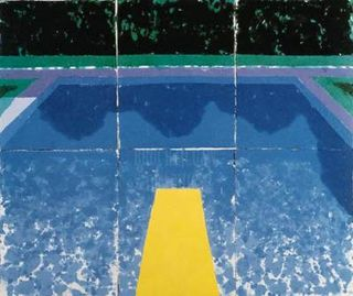 David-Hockney-Day-Pool-with-3-Blues