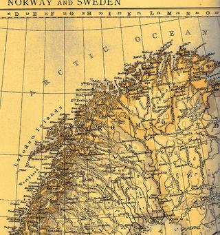 Norway Hammerfest map