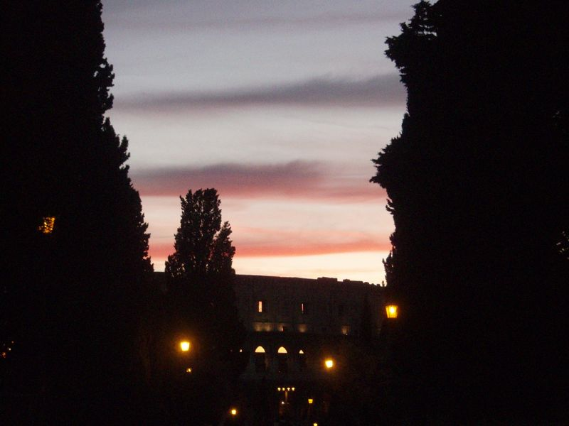 Sky over col