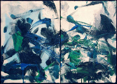 Untitled Diptych 11, 1975, Joan Mitchell