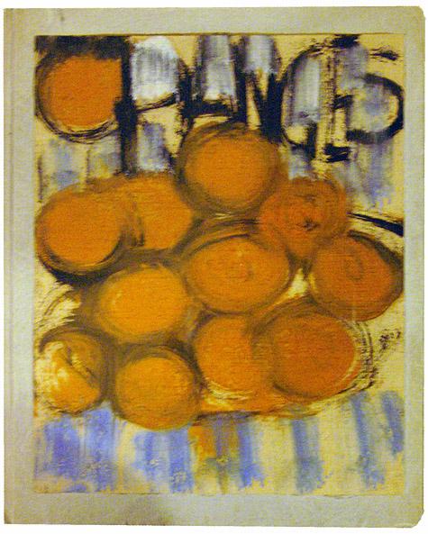 Grace hartigan oranges