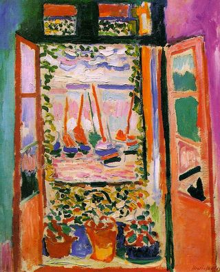 Open window, by Matisse