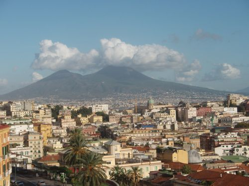 Vesuvius & clouds