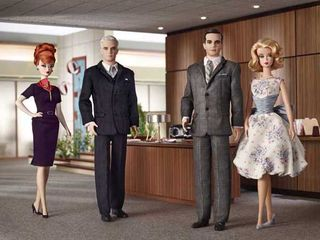 Barbie mad men